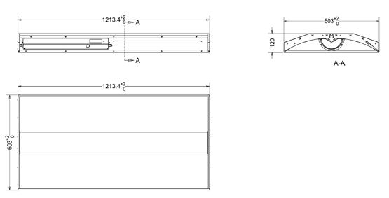 LCD- Bi-Level LED Center Basket